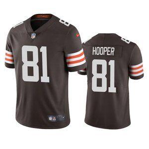 Browns Austin Hooper  Brown Jersey
